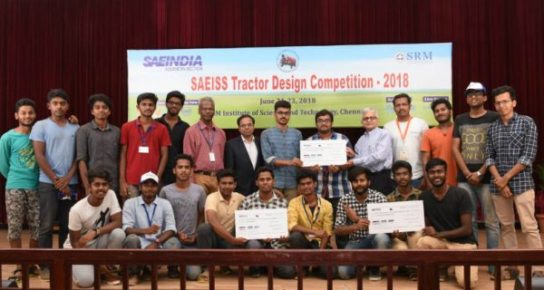 TAFE sponsors SAEISS Tractor Design Competition - 2018