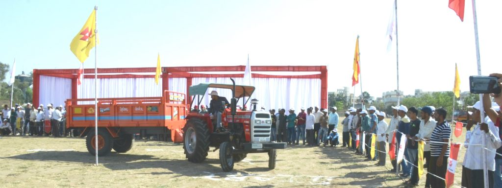 TAFE Farmer's Day in Ankleshwar