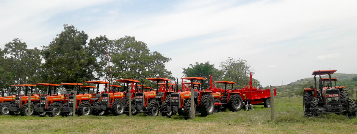 TAFE tractors distributed to Ugandan farmers