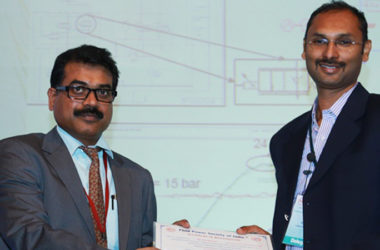 "S. Ravikant - Principal Member, presented a paper titled ""Prospects of IoT on Tractors – Farming solutions"""