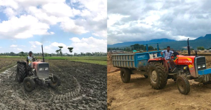 TAFE range of tractors showcase their prowess in Bangladesh
