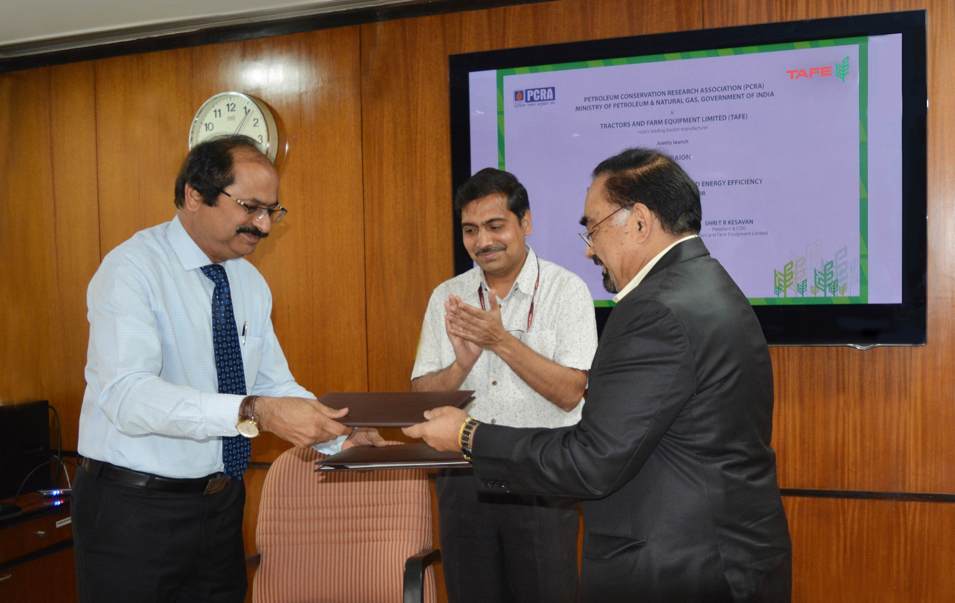 TAFE Signs MoU with PCRA