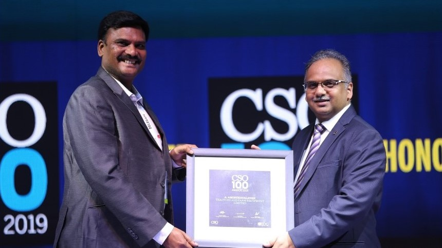 IDG Security & CSO100 Award 2019