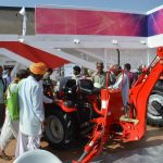 Visitors took an instant liking to the MF 6028 Compact Utility Premium tractor